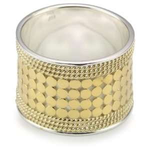 Anna Beck Designs Gili Wire Rimmed 18k Gold Plated Ring