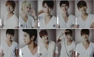SMTOWN 2010 SJ Super Junior Official Pamphlet/Facebook