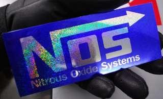 NOS Nitrous Oxide Systems Auto Car Decal Vinyl Sticker