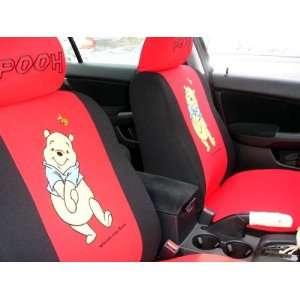 winnie the pooh universal car seat cover   10pcs full set