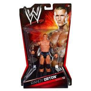 RANDY ORTON WWE MATTEL BASIC SERIES 12 ACTION FIGURE TOY