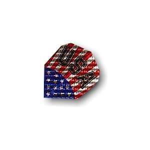 USA Stars & Stripes Flag Logo STANDARD Dimplex Dart Flight