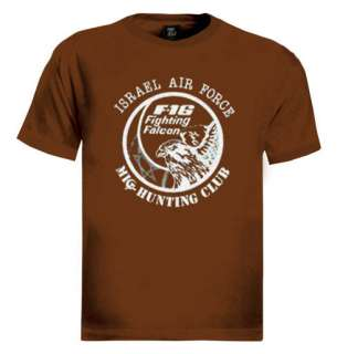 16 Fighting Falcon T Shirt aircraft air force israel