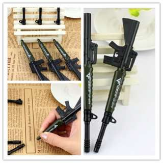 3pcs Novelty Replacement Gun Writing Pen Ballpoint Boys Kids Gift