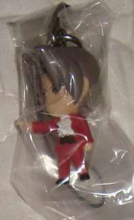 Phoenix Wright Gyakuten Saiban Import Rare Cellphone Strap: Edgeworth