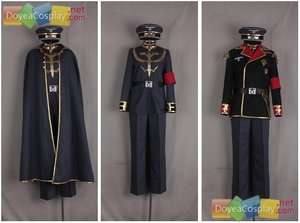 Military Uniform World war two cosplay costume