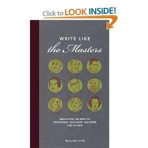 Write Like the Masters: Emulating the Best of Hemingway