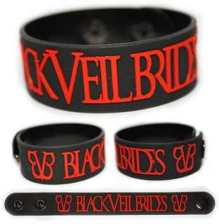 VEIL BRIDES Rubber Bracelet Wristband Set the World on Fire