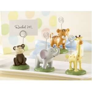kateaspen Born to be Wild Animal Place Card/Photo Holders Baby