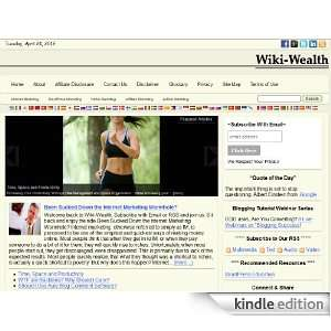 Wiki Wealth: Kindle Store: Mitchell Shields