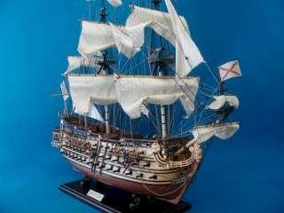 San Felipe 32 Wooden Ship model 1:95 Wood Sailing Boat