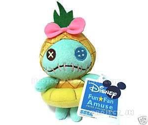 Pineapple Scrump doll plush Disney Sega Lilo Stitch