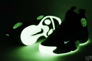 Nike Air Flight One 1 NRG sz 12 GALAXY Glow in Dark All Star Mint