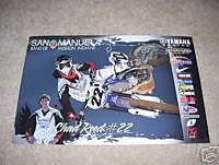Chad Reed #22 Yamaha SX 2008 Poster YZ 125 250 450F