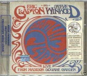 ERIC CLAPTON STEVE WINWOOD LIVE MADISON SQUARE 2 CD NEW