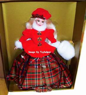 JEWEL Princess Barbie Doll Winter Princess FIGURE