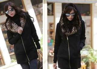 2011 Womens Zipper Long Sleeve Hoodie Casual Coat Outerwear Autumn