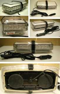 Stylish LED magnetic low profile lightbar beacon