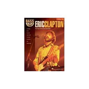 Eric Clapton   Bass Play Along Volume 29   Book and CD