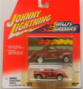 JL Johnny Lightning Willy Gassers 41 Jr. Thompson