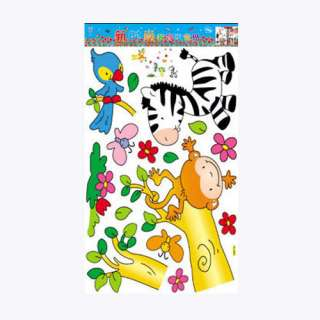Children Room Deco Wall Sticker Monkey & Friends wall decal stickers
