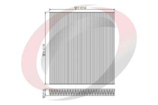 air filter filter type length in width in bosch fram purolator wix oem