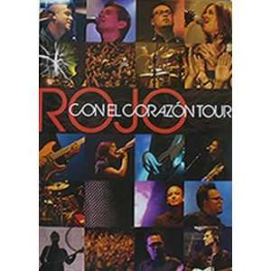 Con el Corazon Tour Rojo DVD: Books
