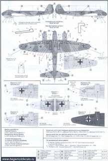 Begemot Decals 1/72 JUNKERS Ju 88 German WWII Bomber