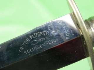 German Germany Solingen Rostfrei Hunting Knife Dagger