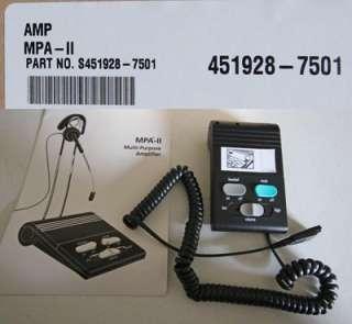 AMP MPA II MULTI PURPOSE AMPLIFIER 451928 7501