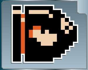 BULLET BILL Super Mario Brothers vinyl decal 8 Bit NES