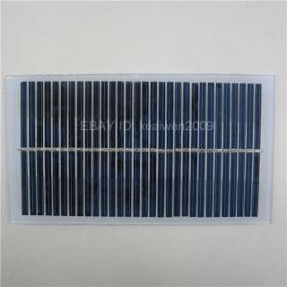 15V 65MA 1W solar panel power 12V led lights system