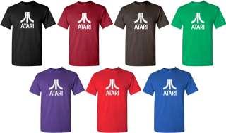 ATARI T shirt Retro ARCADE GAME Tee COOL 80s Shirt GEEK