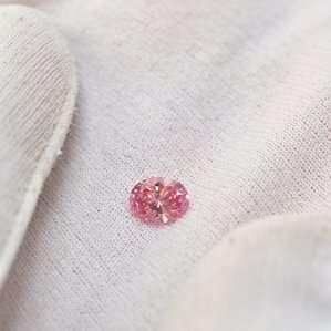 Fancy Vivid Pink Natural 0.66 Carat Diamond GIA&Argyle Laser Certs Lot