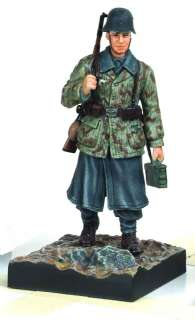 WW II German Soldier Action Figure, HG Division, Anzio, 1944