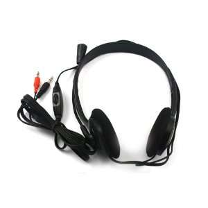 PC Microphone Headphone Headset MSN Skype Talk: Electronics