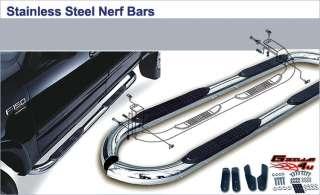 07 11 2011 Ford Explorer SportTrac S/S Nerf Bars