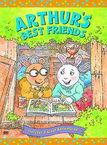 Arthur   Arthurs Best Friends DVD, 2003