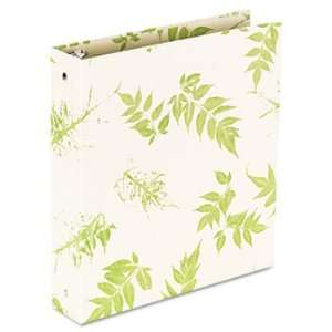 Bamboo Round Ring Binder, 1 Capacity, 11 x 8 1/2: Camera