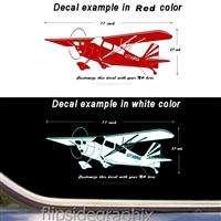 Detailed Citabria Airplane Pilot Decal Wall Sticker sk ca 7