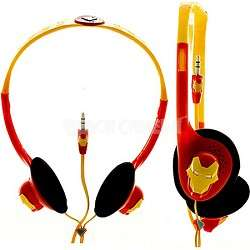 iHip Marvel Comics Headphones   Iron Man