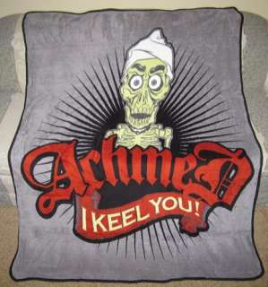 New Achmed the Dead Terrorist I Keel You Plush Throw Blanket Jeff