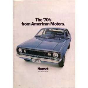 1970 AMC HORNET Sales Brochure Literature Book Piece
