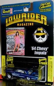 REVELL LOWRIDER MAGAZINE 64 CHEVY IMPALA 164 DIE CAST