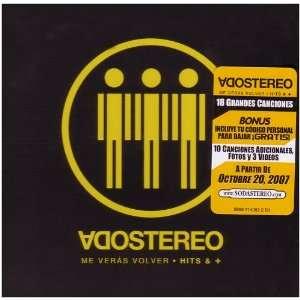 Me Veras Volver Hits & Mas Soda Stereo Music