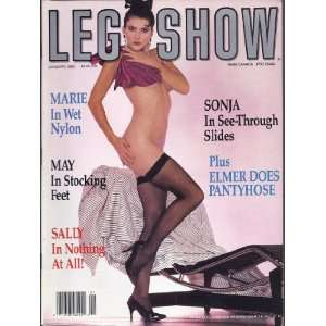 LEG SHOW 1/90 ELMER BATTERS (JANUARY 1990) LEG SHOW MAGAZINE Books