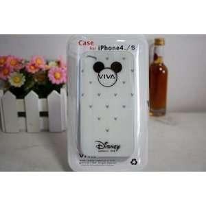 Viva Hard Case White for Iphone 4/4s Xmas gift Cell Phones