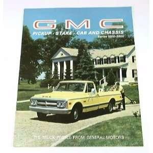1969 69 GMC Truck BROCHURE Pickup Suburban 1500 2500