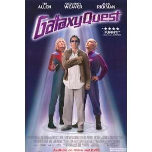 Galaxy Quest   Movie Poster   11 x 17