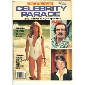 1979 Celebrity Parade Magazine Featuring Charlies Angels Star Farrah